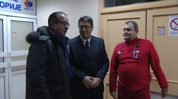 Градоначелник Ниша Зоран Перишић посетио Завод за Хитну медицинску помоћ Ниш